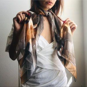 Silk Vintage Scarf/wrap